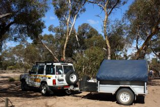 OFFROAD 4WD + CAMPER TRAILER PACKAGE