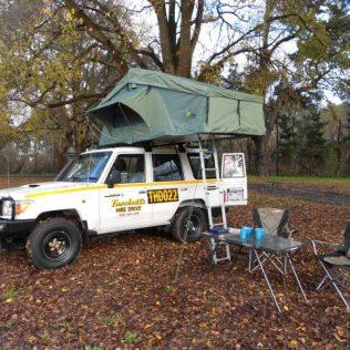 4WD + ROOFTOP CAMPER PACKAGE