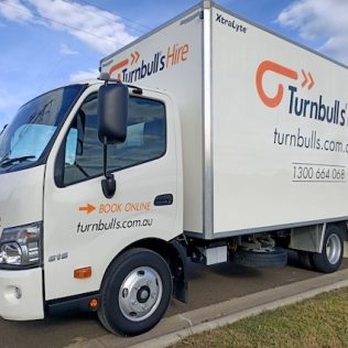 MOVING/FURNITURE TRUCK RENTALS with Tailgate lift and Trolley
