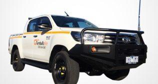 TOYOTA HILUX 4X4 DUAL CAB AUTO ( MINE SPEC )