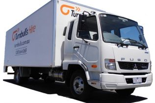 7.1 METRE FURNITURE TRUCK with tail gate lift and trolley