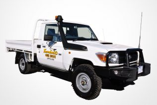 TOYOTA LANDCRUISER SINGLE CAB TRAY