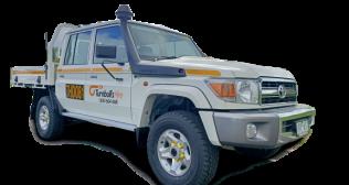 TOYOTA LANDCRUISER DUAL CAB TRAY ( MINE SPEC )